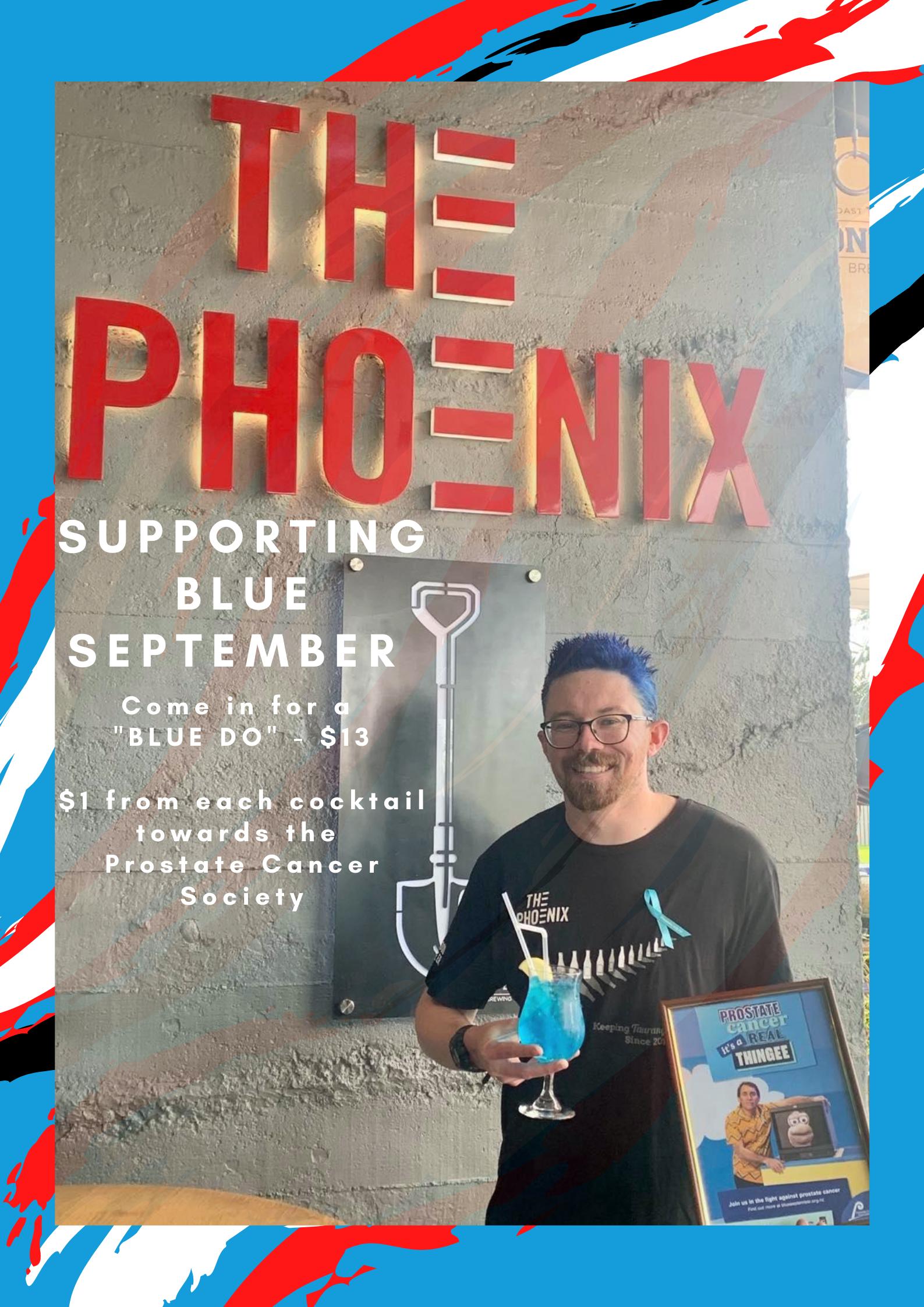 Blue September Poster